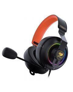 Audifonos Cougar - Phontum PRO - Headset - Para Game console - Cableado - Black
