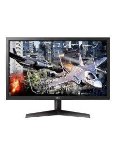 """Monitor LED 24"""" LG UltraGear 24GL600F (23.6"""" visible) - 1920 x 1080 Full HD (1080p) - TN - 300 cd/m² - 1000:1 - 1 ms - 2xHDMI, DisplayPort"""