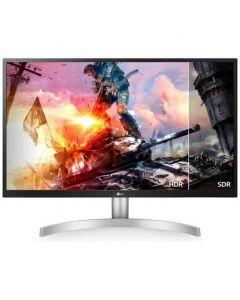 """Monitor LED - 27"""" LG  con HDR 10 - 3840 x 2160 4K - IPS - 300 cd/m² - 1000:1 - 5 ms - 2xHDMI, DisplayPort"""