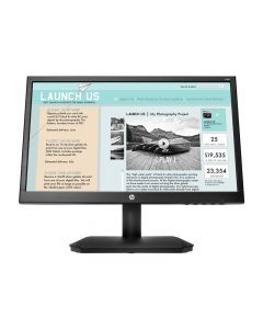 "Monitor 18.5"" HP V190, VGA, HD 1366 x 768 , Widescreen, Negro, 5ms"