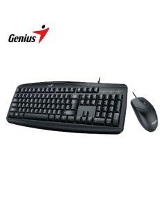 Combo Teclado + Mouse Genius KM-200 Black (con cable)