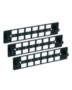 Furukawa -  Kit 3x - Placas LGX 12 para DIO B48 -  12 posiciones - LC/SC