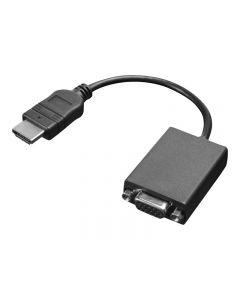 Lenovo adaptador de vídeo - HDMI / VGA - 20 cm