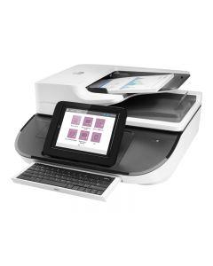 HP Digital Sender Flow 8500fn2 - escáner de documentos - de sobremesa - USB 2.0, Gigabit LAN, USB 2.0 (Host)