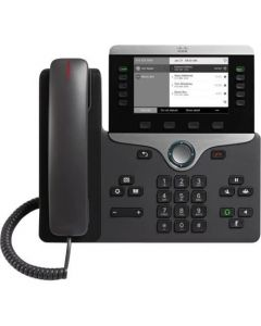 Cisco IP Phone 8811 - Teléfono VoIP - SIP, RTCP, RTP, SRTP, SDP - 5 líneas