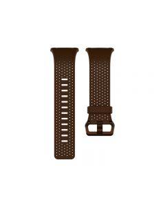 Pulsera de Cuero Fitbit para Reloj Iónico (Grande, Coñac)
