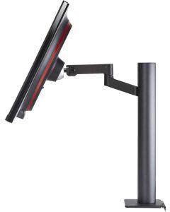"LG - LED-backlit LCD monitor - 27"" - IPS - DisplayPort / HDMI - Black"