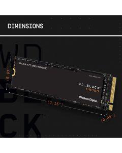 WD Black SN850 NVMe SSD - Unidad en estado sólido - 1 TB - interno