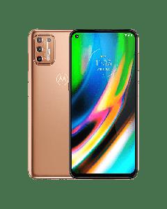 Teléfono Motorola G9 Plus, 128GB, 4GB Ram, 64MP, Gran angular, Lente Macro, 16MP Frontal