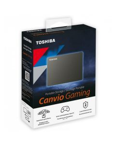 Disco Duro Pórtatil Toshiba Canvio Gaming HDTX140XK3CA - Externo - 4TB - Negro