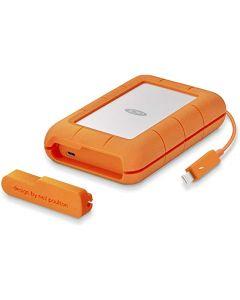 Unidad de disco duro portátil Rugged Thunderbolt USB-C de 4 TB- USB 3.1 Gen 1 / Thunderbolt (USB-C conector)