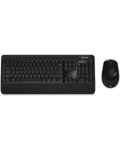 Microsoft Combo Teclado y Mouse - inalámbrico - 2.4 GHz - español