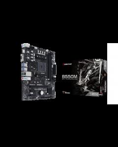Placa Madre Gigabyte B550M H, microATX, Socket AM4, USB 3.2 Gen 1, RGB Fusion 2.0