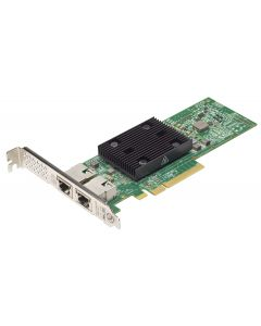 Lenovo ThinkSystem Broadcom NX-E - Adaptador de red - PCIe 3.0 x8 perfil bajo - 10Gb Ethernet x 2 - para ThinkAgile VX 1SE Certified Node; ThinkAgile VX1320 Appliance; ThinkSystem SE350; ST50