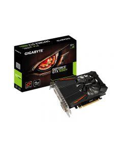 Gigabyte GeForce GTX 1050 Ti D5 4G - tarjeta gráfica - GF GTX 1050 Ti - 4 GB