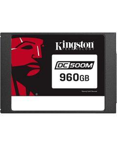 Unidad Estado Solido Kingston DC500M, 960GB, Sata III, Datcenter, Lectura 555MB/s, Escritura 520MB/s