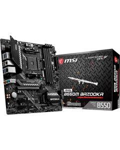 MSI MAG B550M Bazooka Gaming: placa base (AMD AM4, DDR4, PCIe 4.0, SATA 6Gb / s, M.2, USB 3.2 Gen 1, HDMI / DP, Micro-ATX)