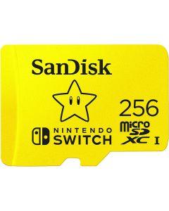 SanDisk Nintendo Switch - Tarjeta de memoria flash - 256 GB