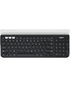 Teclado K780, Inalámbrico   Bluetooth - 2.4 GHz   diseño ergonómico (negro)