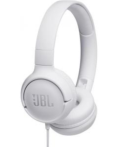 JBL TUNE 500 - Auriculares con diadema con micro - en oreja - cableado - conector de 3,5 mm - blanco