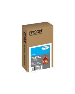Epson 748XXL - XL - cián - original - cartucho de tinta