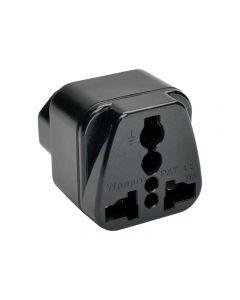 Tripp Lite Power Plug Adapter for IEC-320-C13 Outlets - adaptador para conector de corriente