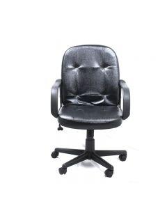 Silla Executive Office con Apoya brazos | Black Leather