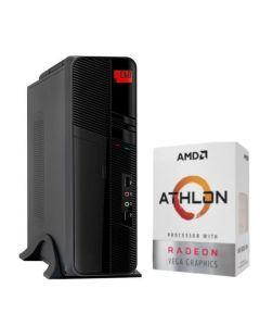 Computador Custom Basic (AMD Athlon 320GE 3.5Hz - Ram 8GB DDR4 - Disco SSD 240GB - Free DOS)