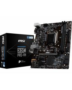 Placa Madre MSI B365M PRO-VH, Intel LGA-115-v2, DDR4 2666MHz, Turbo M.2, Micro-ATX