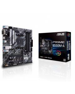 Placa Madre ASUS PRIME B550M-A/CSM - Micro ATX - Socket AM4 - AMD B550
