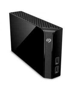 Disco duro 10 TB   externo (sobremesa)  Seagate Backup Plus Hub - USB 3.0 - negro