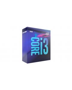 Intel Core i3 9100 - 3.6 GHz - 4 núcleos - 4 hilos - 6 MB caché - LGA1151 Socket - Caja
