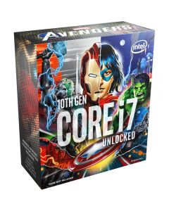 Procesador Intel® Core™ i7-10700K 3.8 GHz, LGA1200 125W, Sin Fan, Avengers Special Edition
