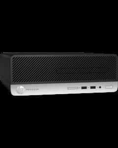 HP - Small form factor - Intel Core i3 I3-8100 / 3.6 GHz - 4 GB DDR4 SDRAM - 1 TB Hard Drive Capacity - Windows 10 Pro 64-bit Edition - Spanish