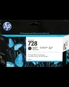 Cartucho de tinta HP 728 negro mate de 130 ml