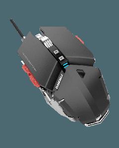 Mouse Gamer Gamemax GX-9, 10 Botones, 4000DPI, Cableado, Negro