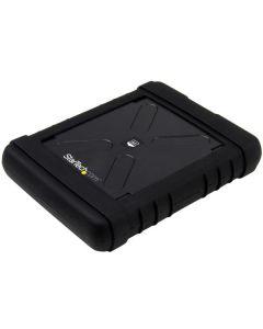 Cofre Gabinete USB 3.0 robusta con UASP para disco duro o SSD SATA de 2,5 pulgadas - Carcasa sin herramientas IP54 tipo militar