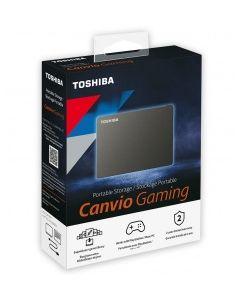 Disco Duro Pórtatil Toshiba Canvio Gaming HDTX120XK3AA - Externo - 2TB - Negro