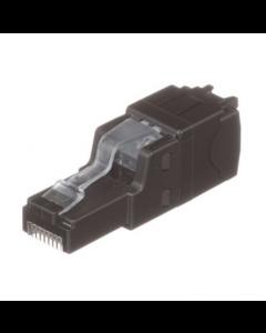 Panduit RJ45, conector de término de campo UTP Cat 6A, 22-26 AWG