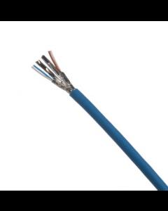 Panduit -Cable de cobre, Cat 6A, 23 AWG, U / UTP, LSZH-1, azul