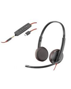 Auriculares BLACKWIRE 3325 USB-A + 3.5MM Stereo
