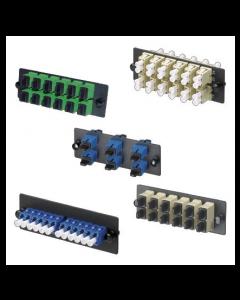 Panduit Panel adaptador de carga frontal - 6 adaptadores