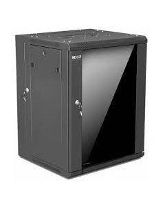 "Nexxt Solutions Infrastructure - Gabinete de Pared - Semi Ensamblado - Black - SKD 15U 19"" D550mm"