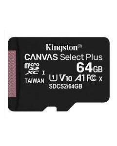 Tarjeta MicroSD Kingston Canvas Select Plus de 64GB