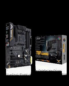 Placa Madre ASUS TUF B450-Plus Gaming, AM4 AMD Ryzen, B450, SATA 6Gb/s, 32Gbps M.2, HDMI 2.0b, ATX