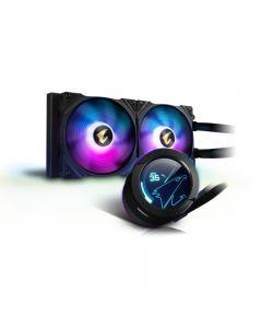 AORUS WATERFORCE X 280 - Disipador Gigabyte -Liquid RGB 140mm