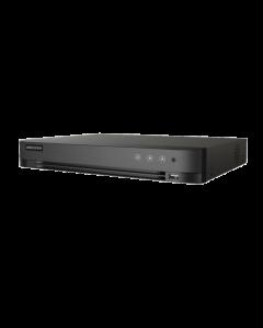 Grabadora de video Hikvision, 16 Canales, Codificación 1080p 15fps, HDTVI / AHD / CVI / CVBS / IP
