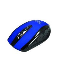 Klip Xtreme KMW-340 - ratón - 2.4 GHz - azul