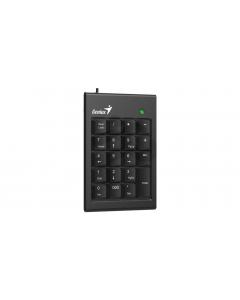 Genius - Juego de Teclado, Mouse y Teclado Numérico -USB- Diseño Ergonómico -Negro