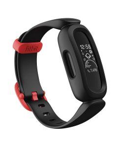Monitor de actividad Fitbit Ace 3, negro / rojo carrera